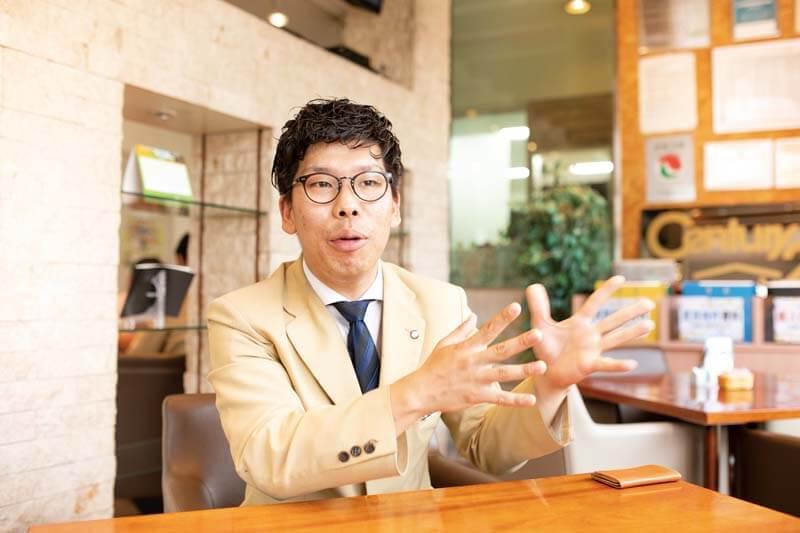 株式会社エイワーク 稲元 泰士郎